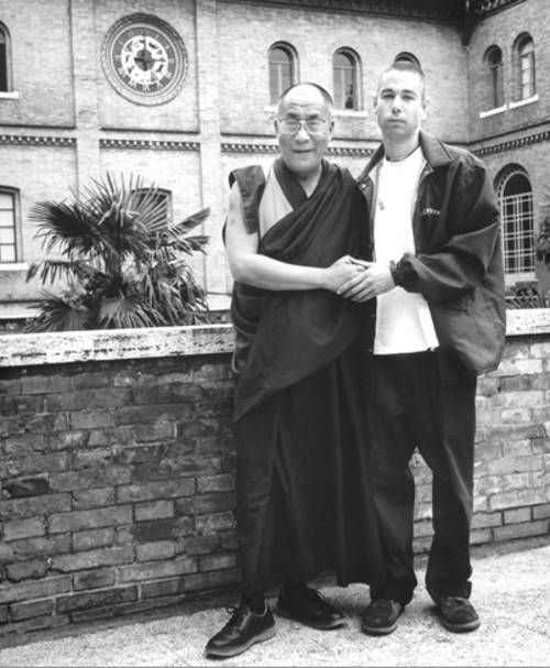 beastieboys:  Adam Yauch and the Dalai Lama Photo by Sue Kwon  Rest in Peace Adam, you will be greatly missed :(