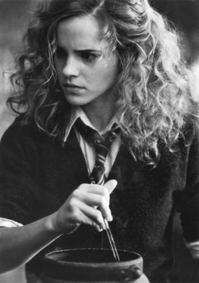 Fav Hermione hair.