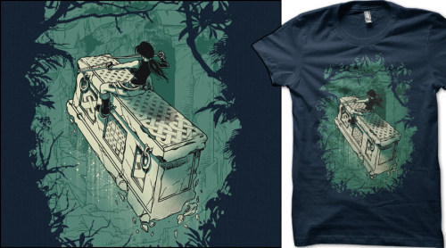 Tomb Rider - If You want this T-shirt vote here  http://www.qwertee.com/product/tomb-rider/