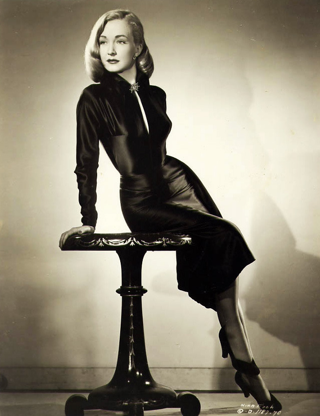 The lovely Nina Foch.