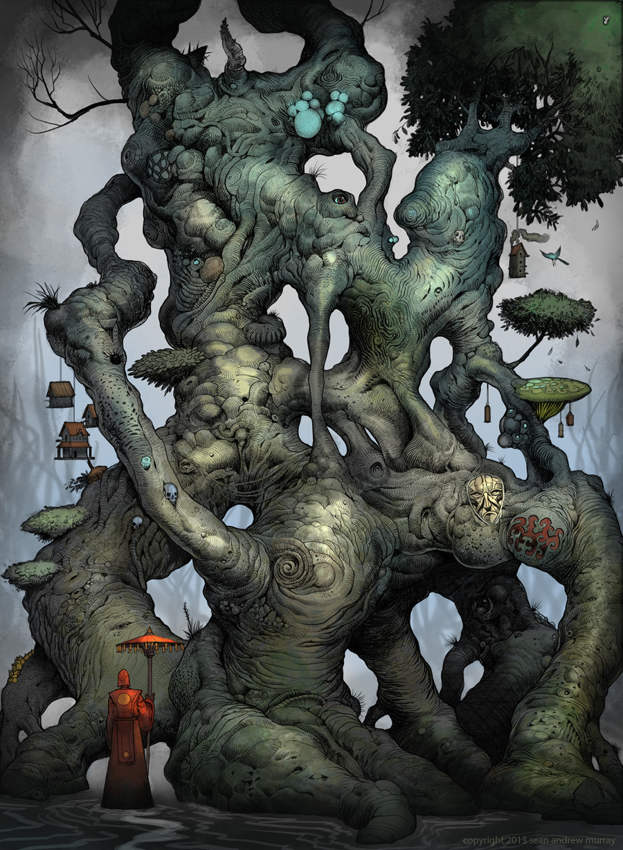 Illiandar - The Mage Tree by Muttonhead