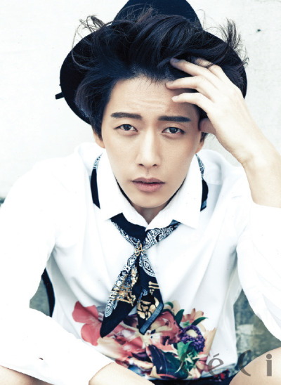 koreanmodel:  Park Haejin by Soo Jin for Ceci Korea Apr 2013.
