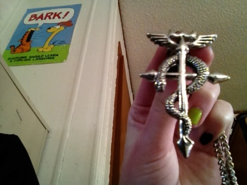 My full metal alchemist necklace :3