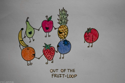 subconsciousinsanity:  Out Of the Fruit Loop, 2012 © csianna