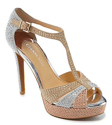 "Gianni Bini ""Twinkle"" jeweled t-strap pump from spring/summer 2013 collection. Price $89.99. Click here to buy."