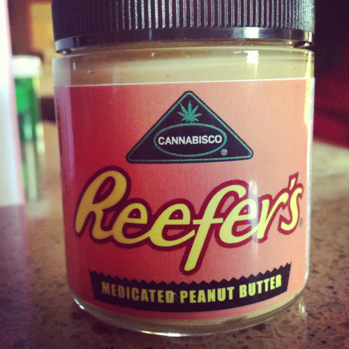 dankfuchsin:  Reefers Peanut butter