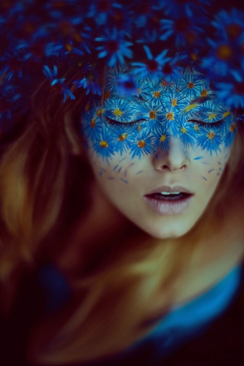 make-up-is-an-art:  in blue dream by ViCOOLya & SAIDA