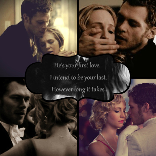 The most touching scene in the TVD Season 4 Finale is Klaus' gift to Caroline. I didn't even dare to bat an eyelash, because I don't want to miss any second of it! I feel sappy about it.  It's the sweetest gift, but I do hope that Car actually chose Klaus instead of Tyler. If she did, I'd prolly sing my lungs out with euphoria.