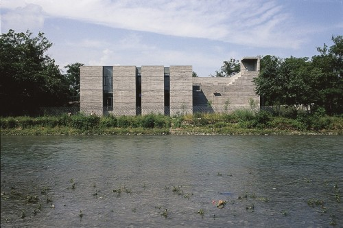 Luyeyuan Art Museum by Jiakun Architects, Chengdu, Sichuan, 2002