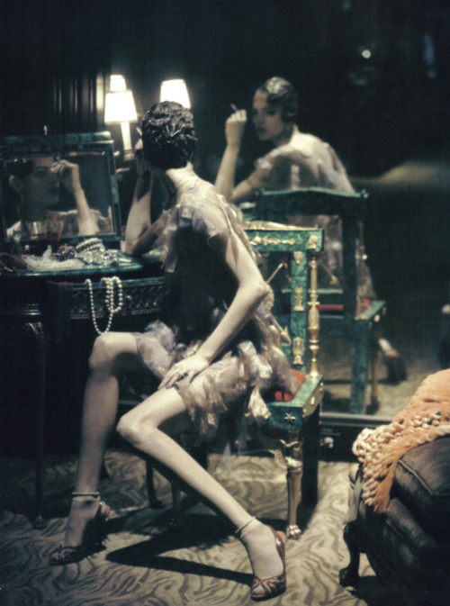 blackshivers:  Freja by Steven Meisel