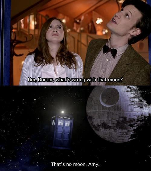 I knew Moffat was going to rip off Star Wars eventually!