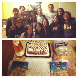 HAHAHA. These peeps. Thanks for the surprise! You're the absolute best! :)