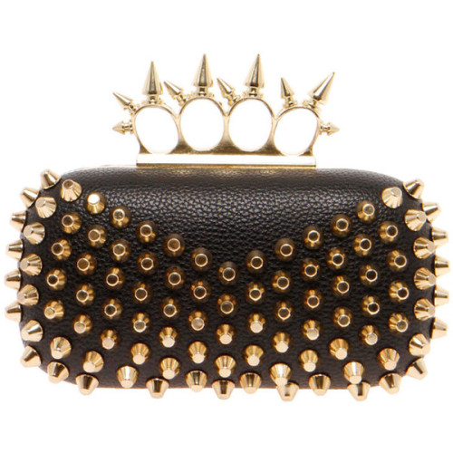 Clutch   ❤ liked on Polyvore (see more ostrich handbags)