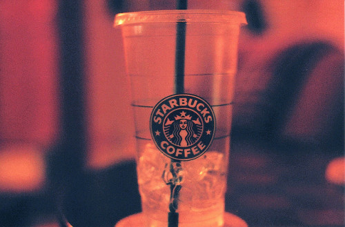 cruentapuella:  starbucks bottle by landon.dix on Flickr.