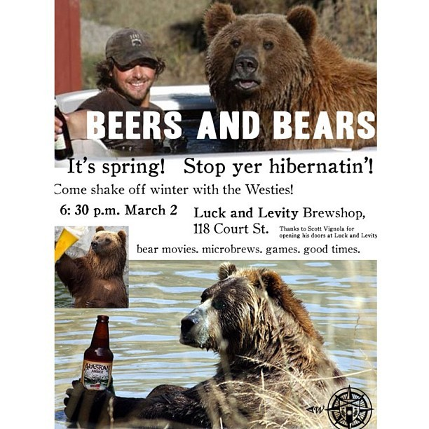 Come 'n get some bear spray! New Haven, CT, Saturday.
