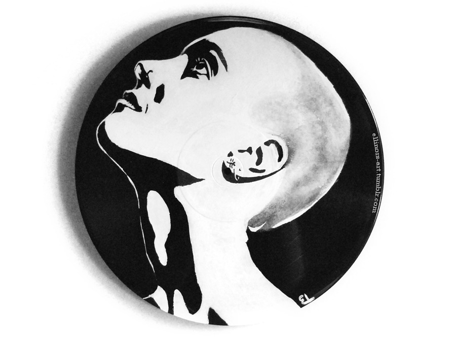 Sinéad O'Connor, on vinyl