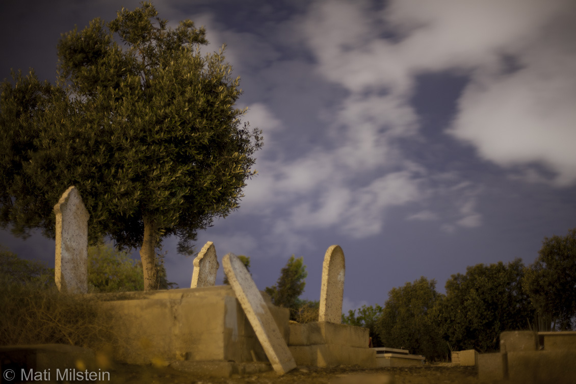 Rest in Peace  The Tasou cemetery in Jaffa, seen in this nighttime photograph, has been the focal point of a decades-long, protracted legal battle between the city's Palestinian Muslim community and a private Israeli real estate developer.
