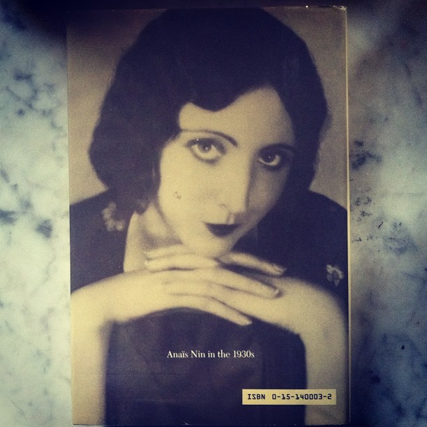 Back Cover #anaisnin #henry&june (at Inside My Heart)