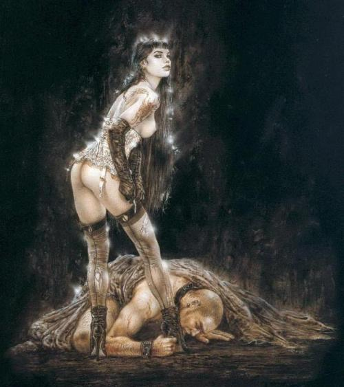 femalecontrol:  Artwork by Luis Royo