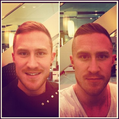 Thanks to one of my besties @adstravaganza for the shape up today, his first day at Charles Worthington on Percy Street in Fitzrovia, come see him