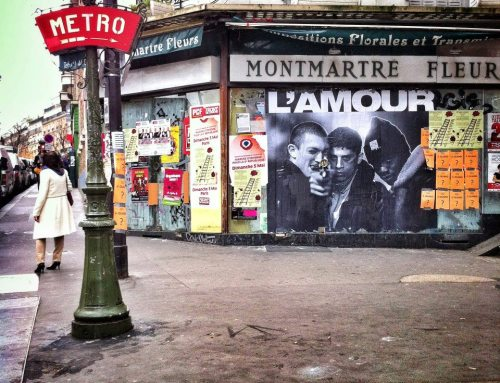 pariisi:  L'amour, la haine à MontmartreLuciano Gallo by Paris ZigZag on facebook
