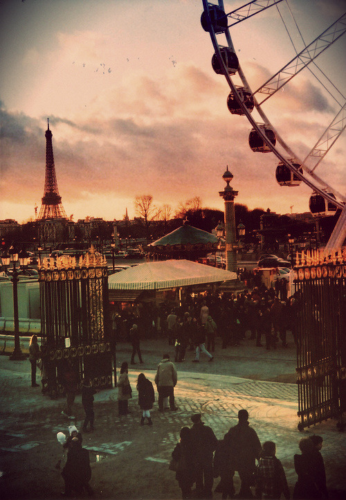 imaginairelullaby:  I miss Paris