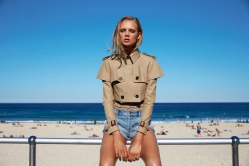 mirnah:  Holly Rose for Miss Vogue Australia