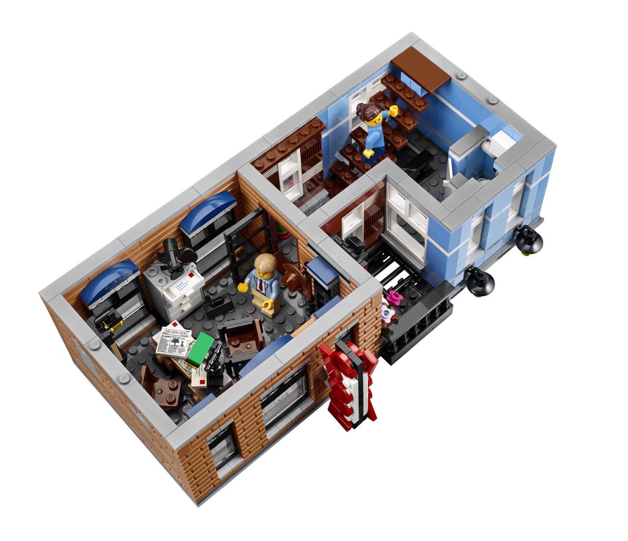 Lego minifigures lego creator expert detective s for Afbeeldingen interieur
