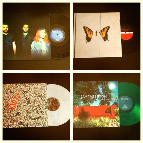 vinyl limited edition only on http://www.paramore.net/store  http://www.hayleywparamore.tumblr.com