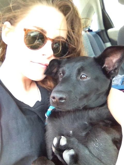 theselfieissue:  Kristen Stewart and furry friend. #theselfieissue #kristenstewart #selfieexclusive