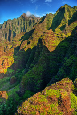 touchdisky:  Na Pali coast, Kauai, Hawaii, USA by IronRodArt - Royce Bair