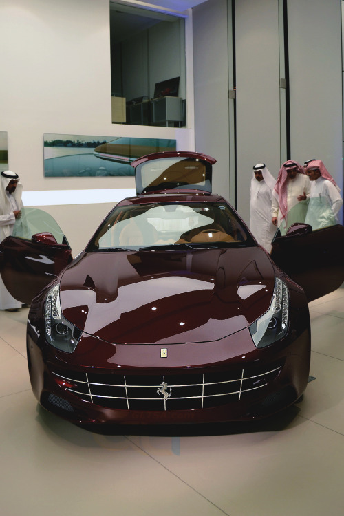 drugera:  Ferrari FF Launch Party, Jeddah, Saudi Arabia.   God damnn