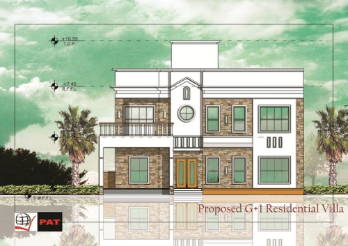 Proposed 2-Storey Villa at Indore, India