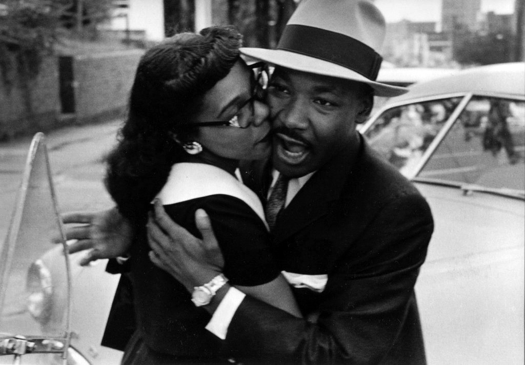 cosmosonic:  Martin Luther King Jr. and his Wife Coretta, Montgomery, Alabama, 1958