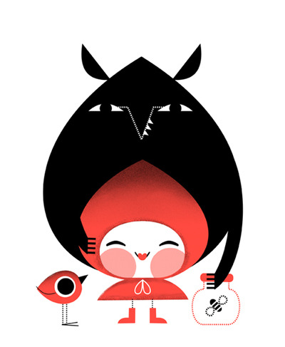 Little red riding hood http://beatorres.blogspot.com.es/