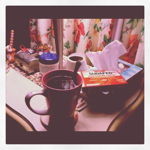 #Sudafed my sinuses and allergies thank you! && thank God for tea! <3