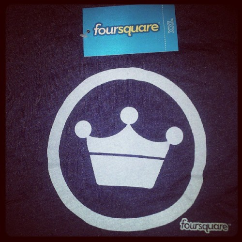 New #Foursquare Mayor Tshirt