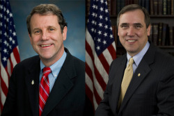 "Sen. Sherrod Brown and Sen. Jeff Merkley, both of whom are Eagle Scouts, sent a letter to the Boy Scouts of America urging the organization to ""to adopt inclusive membership and leadership policies that will allow for all Americans to participate in the Boy Scouts."""