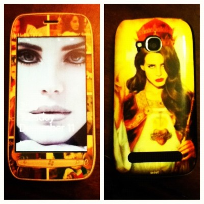 lanasbiggestfan:  My new phone cover lana del Jesus