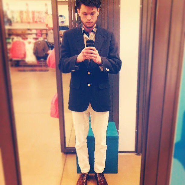 #thyrequiemphotos #self #me #blazer #midandtight #style #mensstyle #fashion @indie_will88 I got all dressed up for nobody, but me.