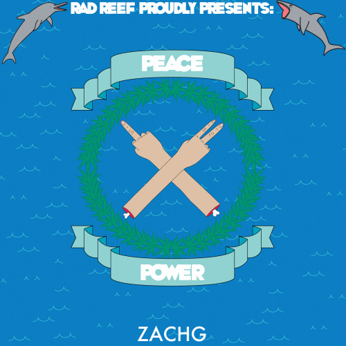 "Zachg - Rad Reef Proudly Presents: Mostly Power Ep + Mostly Peace EP = Peace/Power <a href=""http://radreef.bandcamp.com/album/mostly-power"" data-mce-href=""http://radreef.bandcamp.com/album/mostly-power"">Mostly Power by Zachg</a> <a href=""http://radreef.bandcamp.com/album/mostly-peace"" data-mce-href=""http://radreef.bandcamp.com/album/mostly-peace"">Mostly Peace by Zachg</a>"
