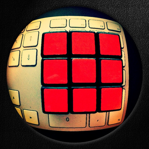 Jeudi/Thursday - The Rubik's Pad - supa_xA