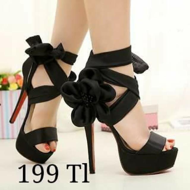 Sexy high heel platform sandals