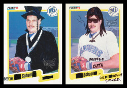 baseballcardvandals:  hey kids, the choice is yours. #DrugsVsHomework