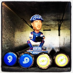 JP Arencibia bobblehead that will be handed out to the first 20,000 fans on Sunday, July 7 when the Blue Jays take on the Twins.