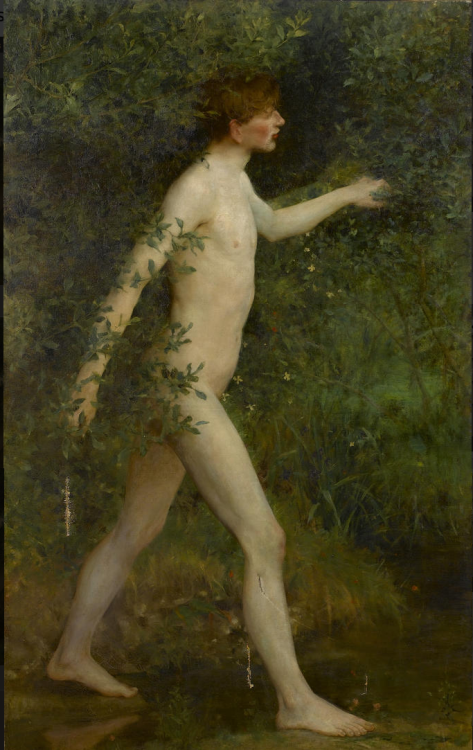 Henry Scott Tuke, Male nude Does anyone else find Scott Tuke mildly saddening?