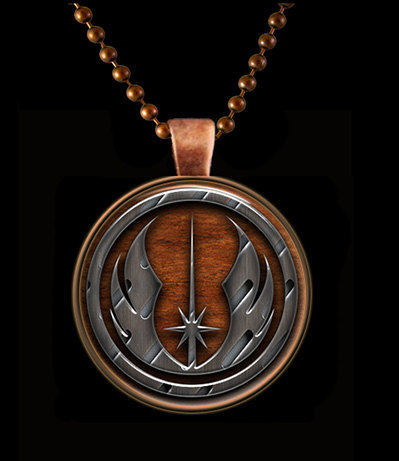 Drooling over this Jedi symbol necklace- and it's just $9! Get it on Etsy.