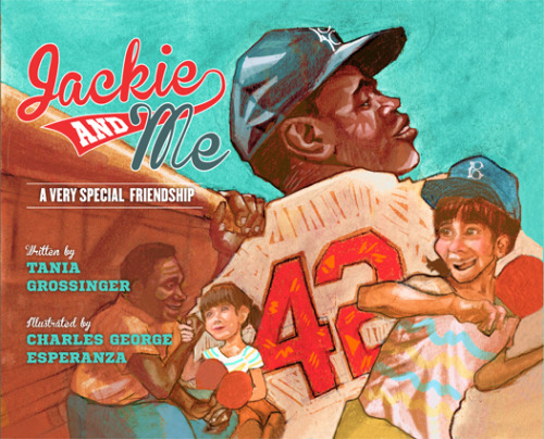 "Today my first Published Picture book ""Jackie and Me"" is released! you can  buy one here http://www.barnesandnoble.com/w/jackie-and-me-tania-grossinger/1113641854"