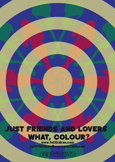 you can preorder the Just Friends and Lovers record What, Colour? already! the LP will ship out before its actuall release date. every LP ordered will come w/ a Poster, pre order or not. every pre order holds a special goodie though :)  this is what the poster looks like, made by great artist Theresa Adamski.