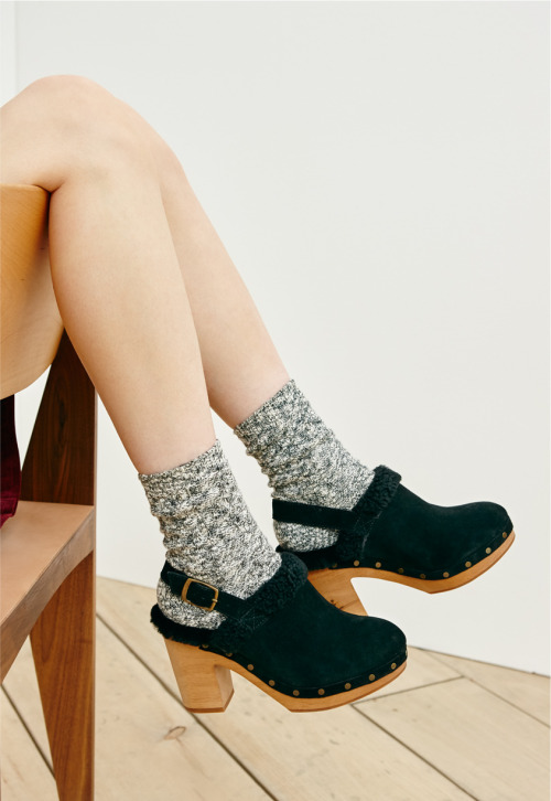 madewell style shoes clogs wellheeled shearling